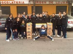Voluntarias del Maratón de Sevilla 2011