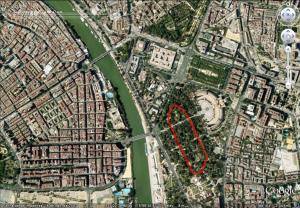 Plano Cross Parque MªLuisa