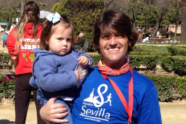 Blanquita Quintana ya tiene 2 maratones de Sevilla